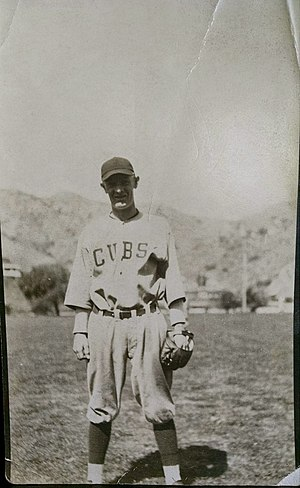 Tony Kaufmann - Tony Kaufmann on Catalina Island during his time with the Cubs