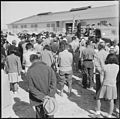Topaz, Utah. An evacuee resident, who is a Christian minister, opens the hospital dedication with a . . . - NARA - 538724.jpg