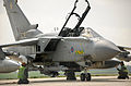 Tornado GR4 Prepares for Takeoff to Support UN Sanctioned No Fly Zone over Libya MOD 45152564.jpg