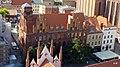 Toruń - widok z wieży Ratusza ( Budynek Poczty) - panoramio.jpg