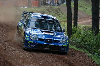 Toshi Arai Japanese rally driver and team owner