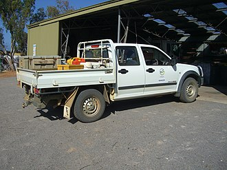 Department of Conservation and Land Management (Western Australia) - Image: Toyota Hilux 3.0 i TD 4WD KNP 2 X 2005