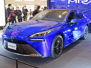 Fuel cell vehicle Vehicle that uses a fuel cell to power its electric motor
