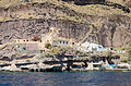 Traditional cave houses at Mesa Gialos - old harbour of Fira - Santorini - Greece - 04.jpg
