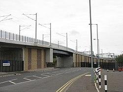 Tramway bridge over Roseburn Street (geograph 3647478).jpg