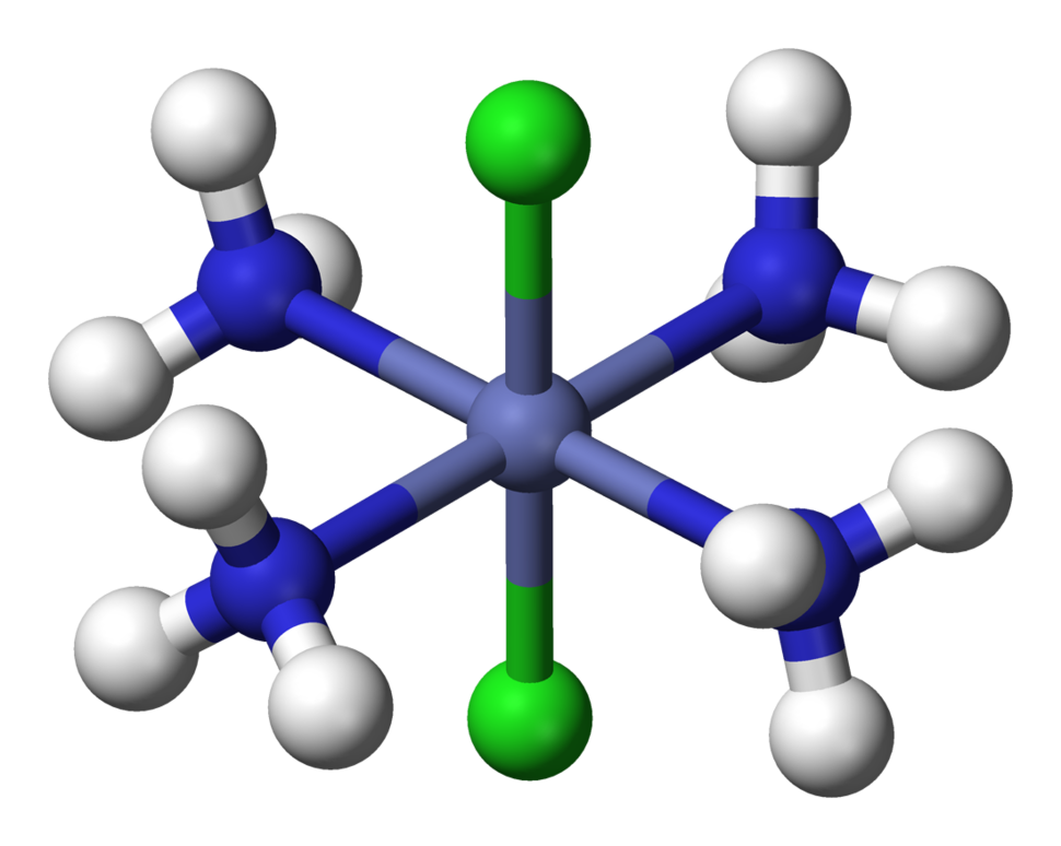 Trans-dichlorotetraamminecobalt(III)