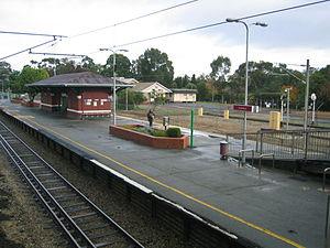 Guildford railway station, Perth - Image: Transperth Guildford Train Station