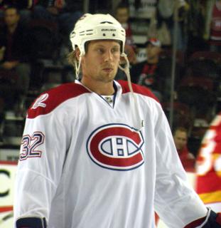 Travis Moen Canadian ice hockey player