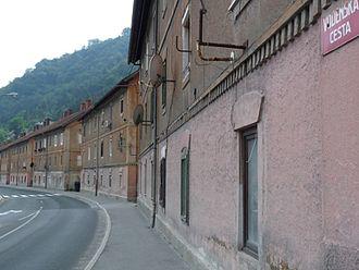 Trbovlje - Image: Trbovlje, delavske hiše