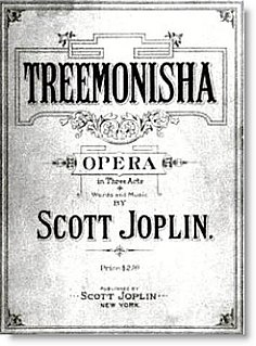 <i>Treemonisha</i> 1911 opera by Scott Joplin