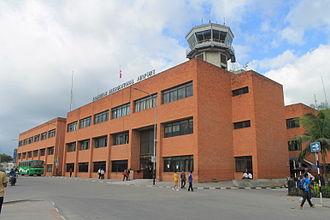 Tribhuvan International Airport - Operations building