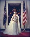 Tricia Nixon in her wedding gown - NARA - 194364.tif