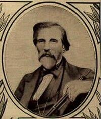 Fotografía de 1855 de Frédérick Triébert (1813-1878) del Catálogo Triébert, considerado como uno de los diseñadores del oboe moderno.