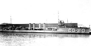 USS Trippe (DD-33) - On Coast Guard service during the Prohibition Era