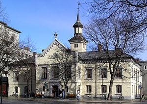 Ole Falck Ebbell - Image: Trondheim gamle rådhus