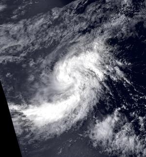 Tropical Storm Octave (1983) - Image: Tropical Storm Octave 28 Sep 1983 2248z