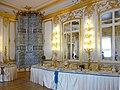 Tsarskoïe Selo Le Grand Palais Catherine salle à manger des chevaliers bis.JPG