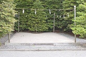 Himorogi - A himorogi at Tsurugaoka Hachiman-gū