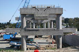 Tukwila International Boulevard station - Image: Tukwila Intl Blvd Station under construction, 2006 (178733921)