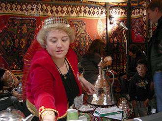 Festál - Temporary coffeehouse at Turkfest.