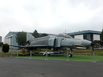 Istanbul Aviation Museum - Image: Turkish Air Force Mc Donnell Douglas F 4E Phantom II, Istanbul Aviation Museum