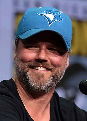Tyler Labine - Labine at the 2017 San Diego Comic-Con to promote Dirk Gently's Holistic Detective Agency