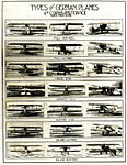 Types of German Planes, World War I aircraft recognition collage.JPG