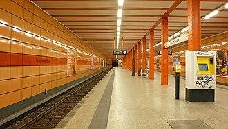 Schillingstraße (Berlin U-Bahn) - Platform after renovation