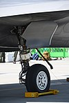 U.S. Marine Corps F-35B Lightning II(169164) of VMFA-121 right main landing gear right rear view at MCAS Iwakuni May 5, 2018.jpg