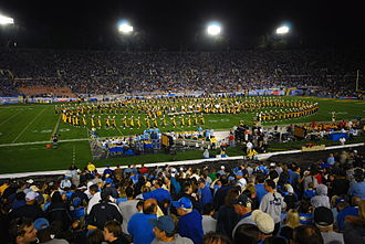 UCLA Bruin Marching Band - Image: UCLA band