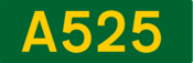 A525 road shield