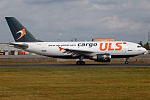 ULS Airlines Cargo, TC-VEL, Airbus A310-304 F (21232919482).jpg