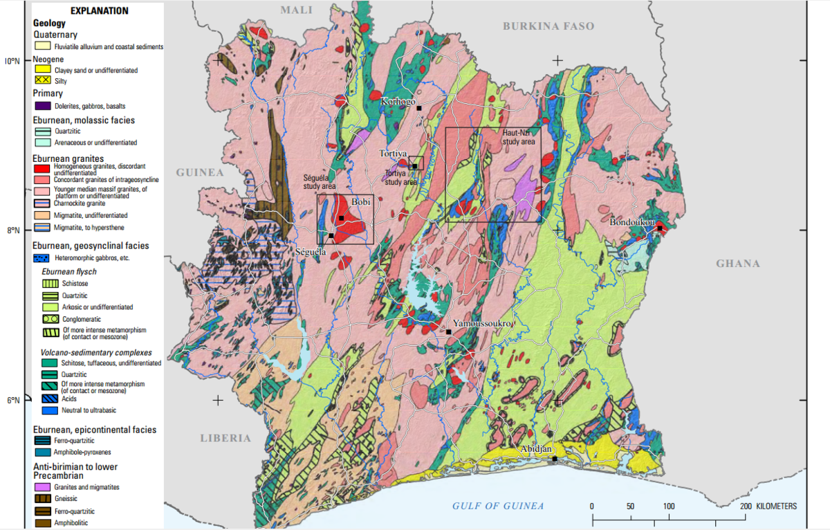 Picture of: Geology Of Ivory Coast Wikipedia