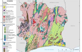Geology of Ivory Coast