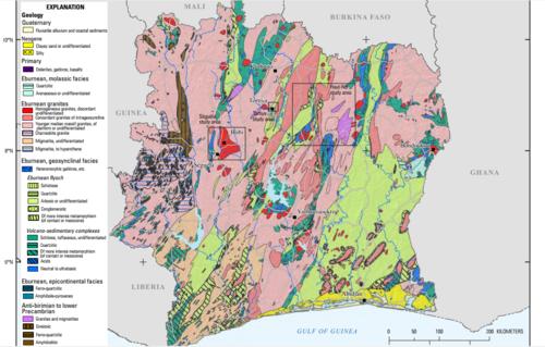 Geology of Ivory Coast - Wikipedia
