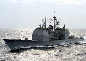 USS Leyte Gulf - Image: USS Leyte Gulf CG 55