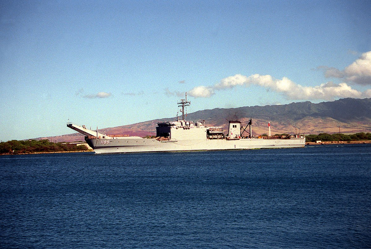 Uss Barbour County Lst 1195 Wikipedia
