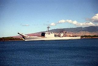 USS <i>Barbour County</i> Newport-class tank landing ship