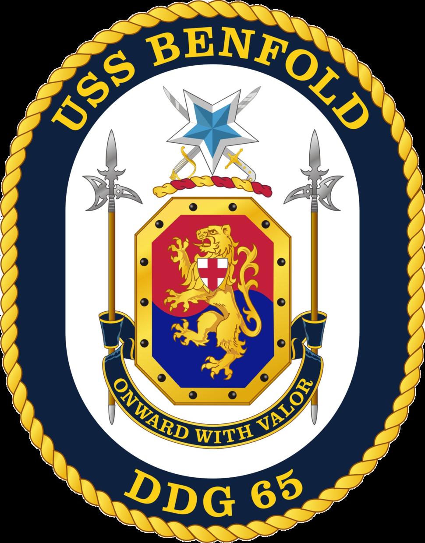 USS Benfold DDG-65 Crest