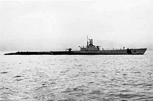 USS Cero (SS-225), c. 1943-45.