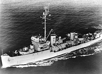 Auk-class minesweeper - Image: USS Chief AM 315 in 1952