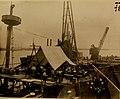USS Maine (ACR 1), raising her wreck in Havana Harbor, Cuba, 1910 (21272250174).jpg