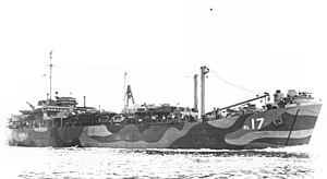 USS Numitor (ARL-17) - Image: USS Numitor ARL 17