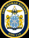 USS Thomas Hudner DDG-116 Crest.png