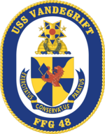 USS Vandegrift (FFG-48) insignia 1984.png