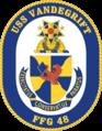 USS Vandegrift (FFG-48) insignia 1984.png