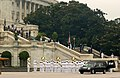 US Navy 040611-N-1810F-004 Ceremonial Honor Guardsmen march down the steps of the Capitol in Washington, D.C., after the Rotunda Service honoring former President Ronald Reagan.jpg