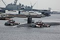 US Navy 060408-N-4014G-111 The guided-missile submarine USS Florida (SSGN 728) departs Norfolk Naval Shipyard and en-route her new homeport of Naval Submarine Base King's Bay, Ga.jpg