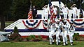 US Navy 060608-N-3218H-052 The color guard posts the colors for the singing of the National Anthem at the establishment ceremony for the Naval Munitions Command at Naval Weapons Station Yorktown.jpg