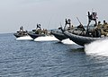US Navy 080903-N-4500G-110 Naval Special Warfare 11-meter rigid-hull inflatable boats transit the Pamlico Sound.jpg